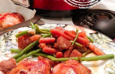 Repas de poulet à la mijoteuse - Auboutdelalangue.com