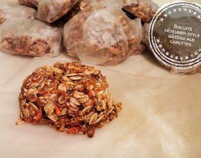 Biscuits déjeuner style gâteau aux carottes - Auboutdelalangue.com