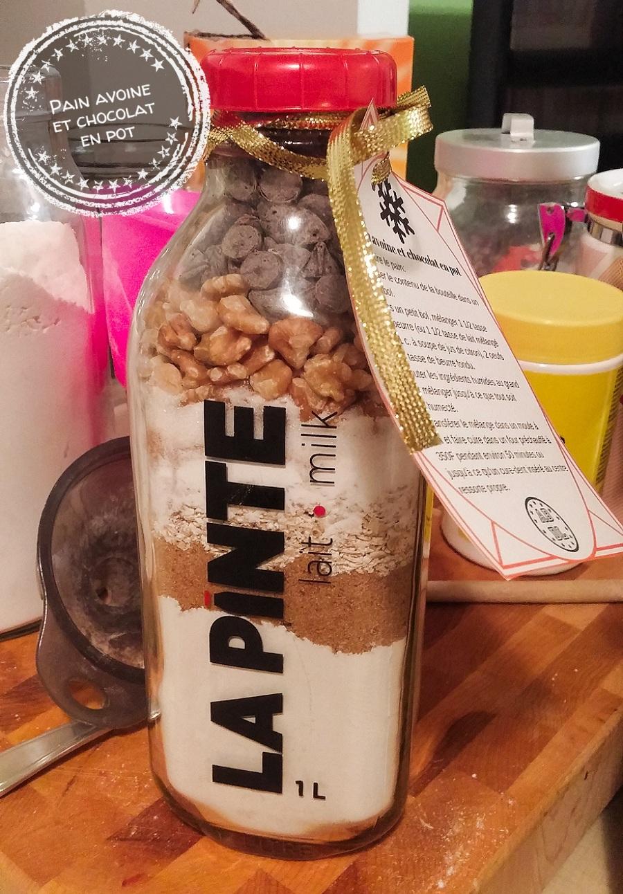 Pain avoine et chocolat en pot - Auboutdelalangue.com