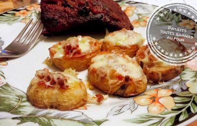 Patates toutes garnies au four - Auboutdelalangue.com
