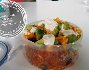 Quinoa dans un seul chaudron style tacos - Auboutdelalangue.com