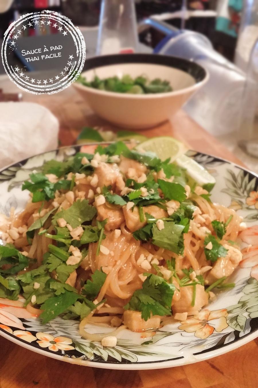Sauce à pad thai facile - Auboutdelalangue.com