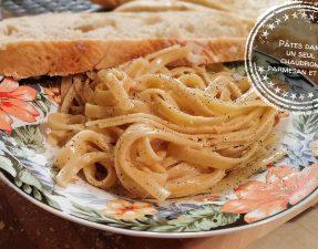 Pâtes dans un seul chaudron parmesan et ail - Auboutdelalangue.com