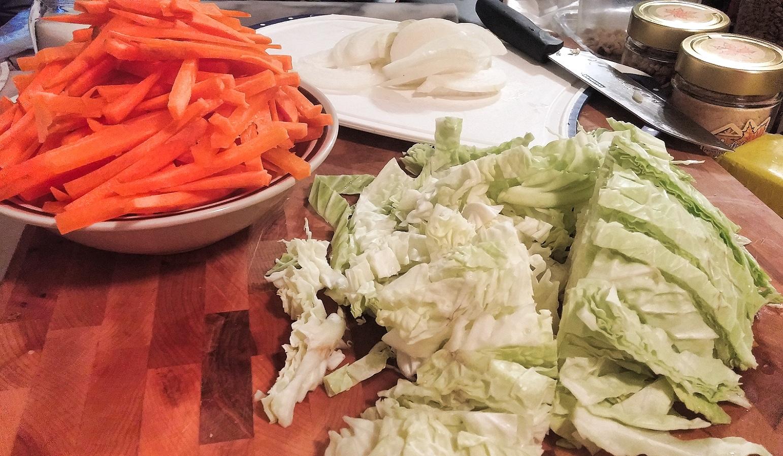 Chow mein au poulet dans un seul chaudron - Auboutdelalangue.com (4)