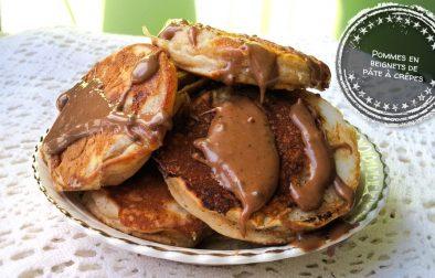 Pommes en beignets de pâte à crêpes - Auboutdelalangue.com