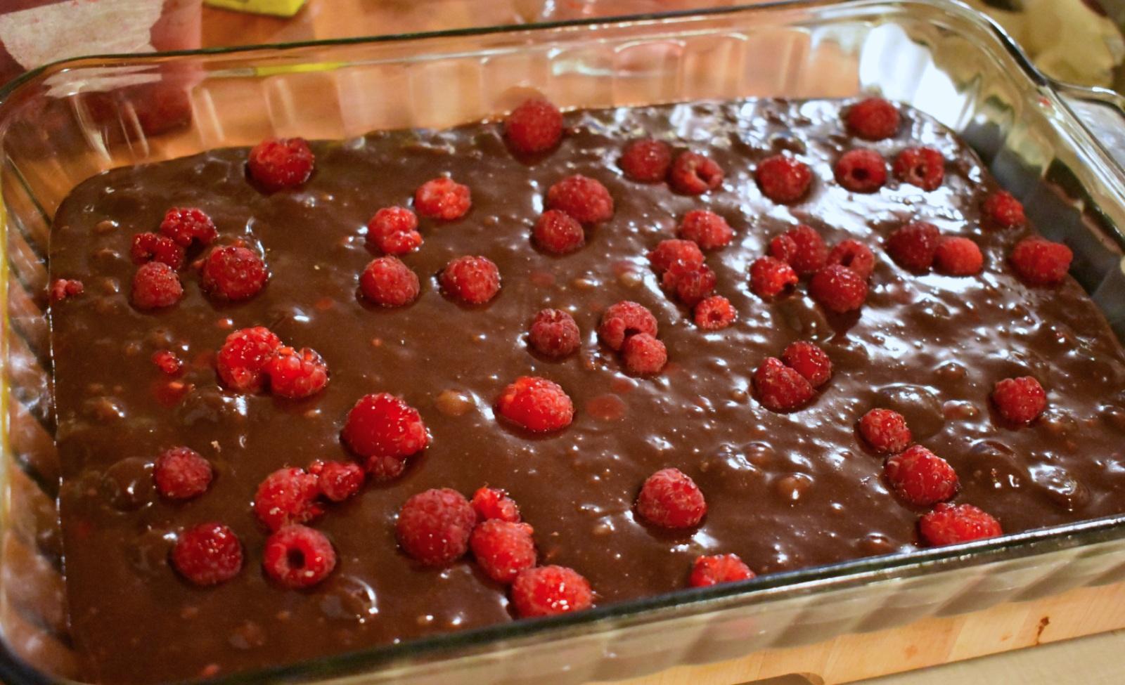 Brownies aux framboises - Auboutdelalangue.com (7)