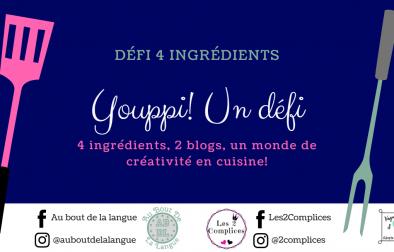 Défi 4 ingrédients - image blog