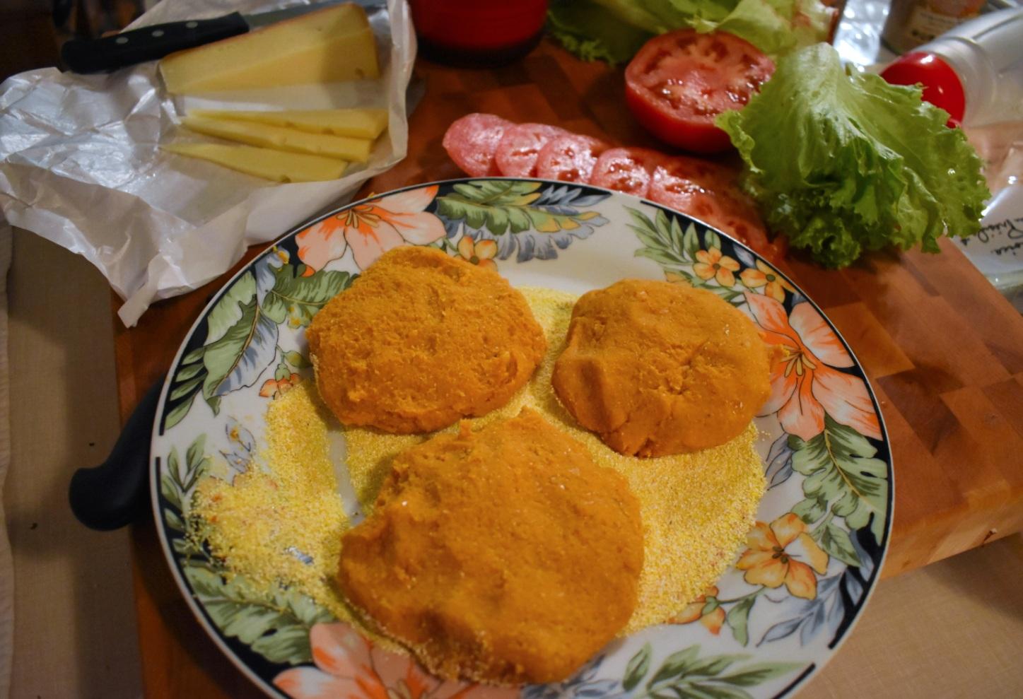Burger végétarien de pois chiches à la patate douce - Auboutdelalangue.com (5)