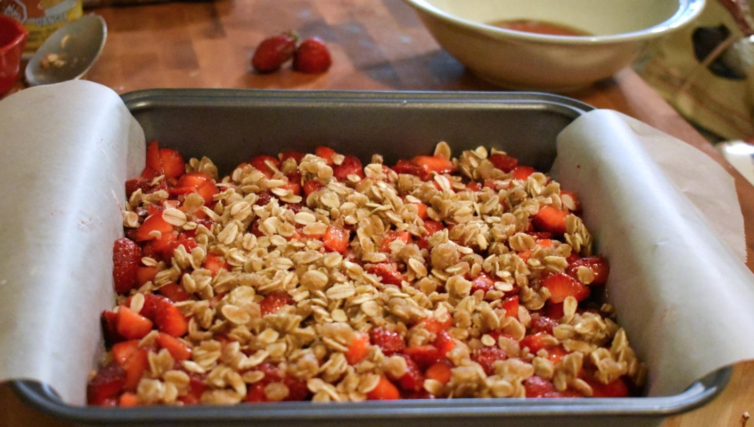 Carrés aux fraises style croustade - Auboutdelalangue.com (5)