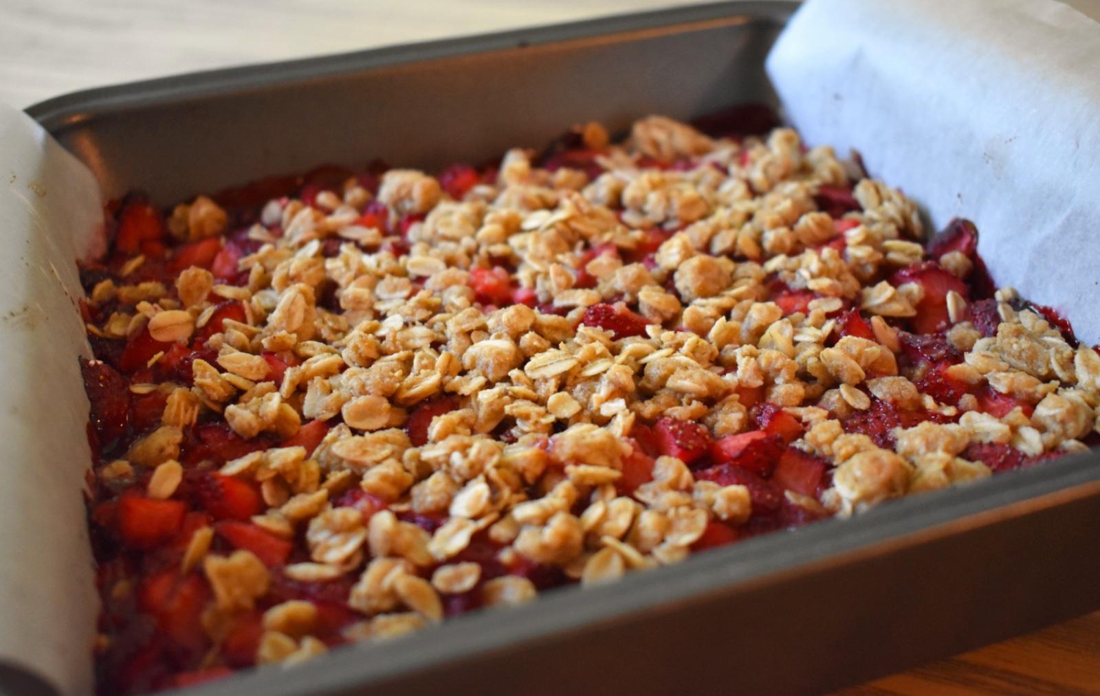 Carrés aux fraises style croustade - Auboutdelalangue.com (6)