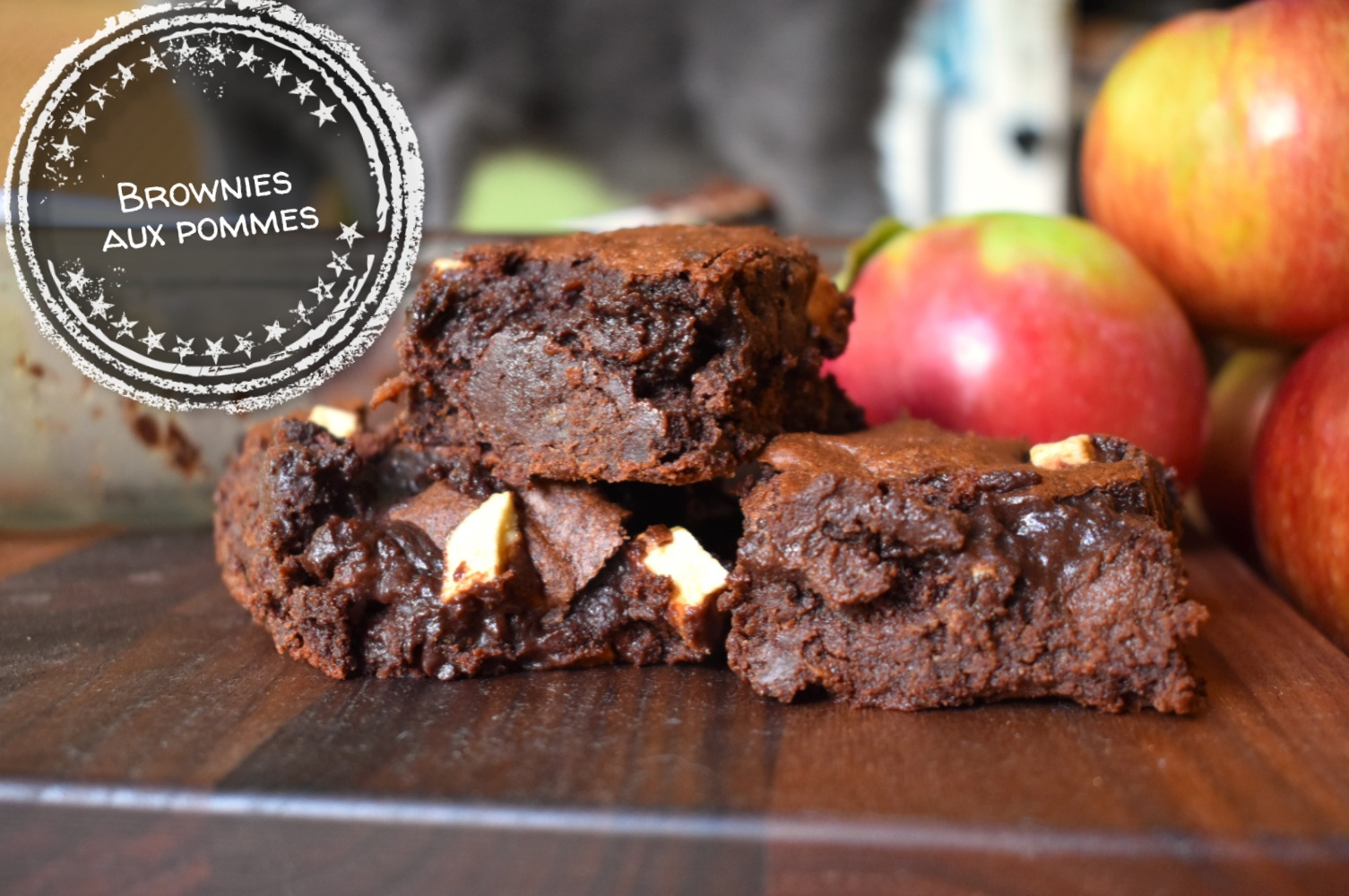 Brownies aux pommes - Auboutdelalangue.com (12)