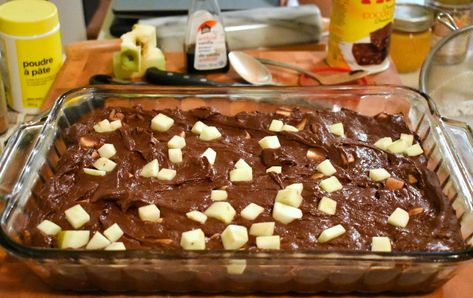 Brownies aux pommes - Auboutdelalangue.com (9)