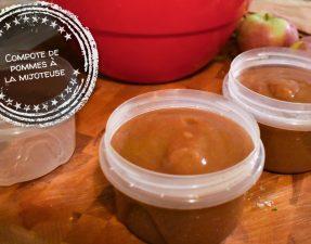 Compote de pommes à la mijoteuse - Auboutdelalangue.com