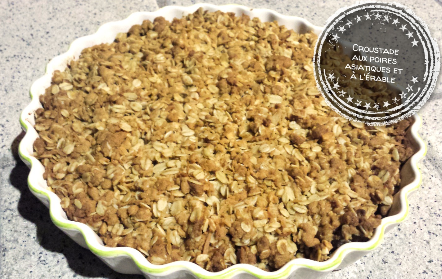 Croustade aux poires asiatiques et à l'érable - Auboutdelalangue.com (9)
