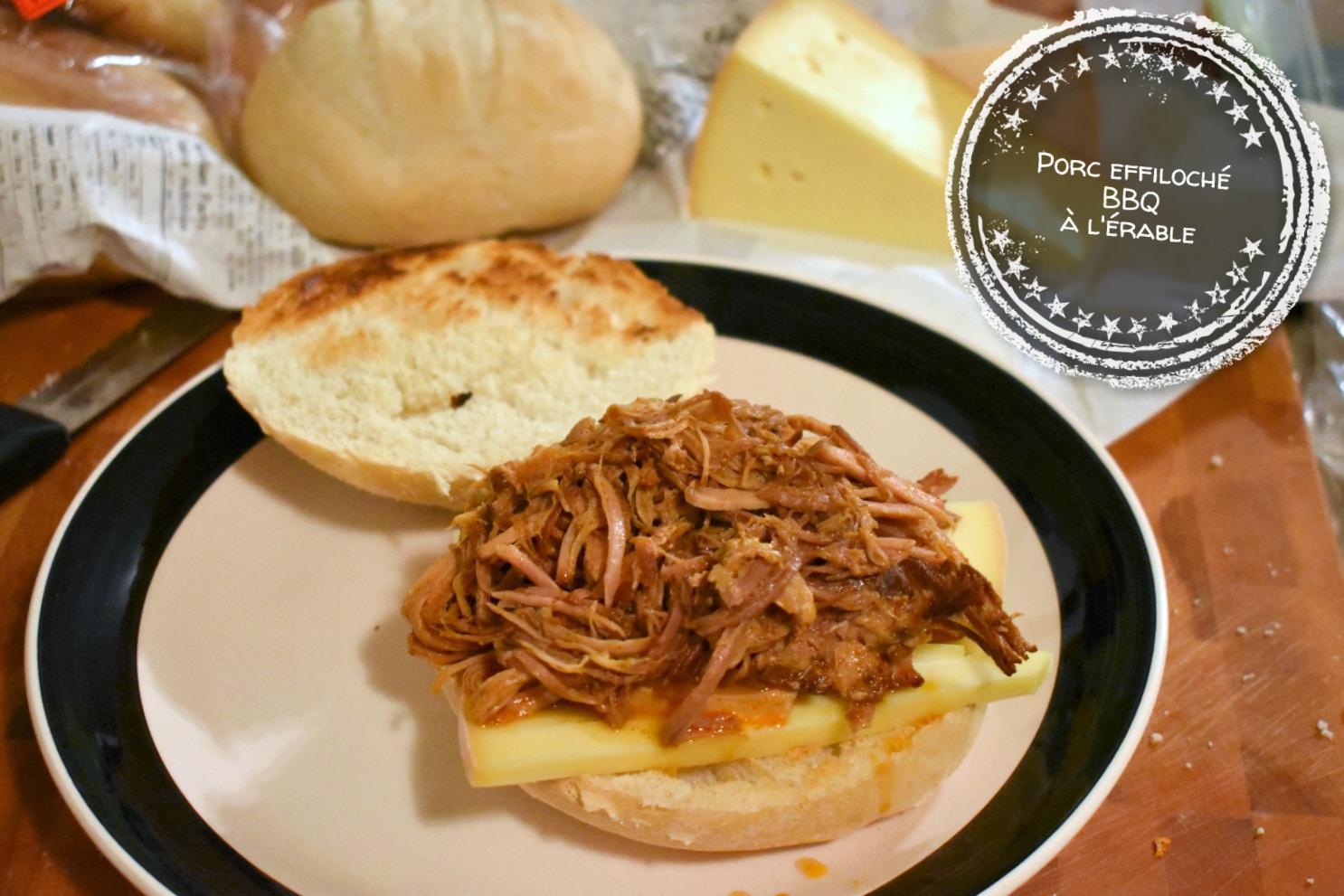 Porc effiloché BBQ à l'érable - Auboutdelalangue.com (9)