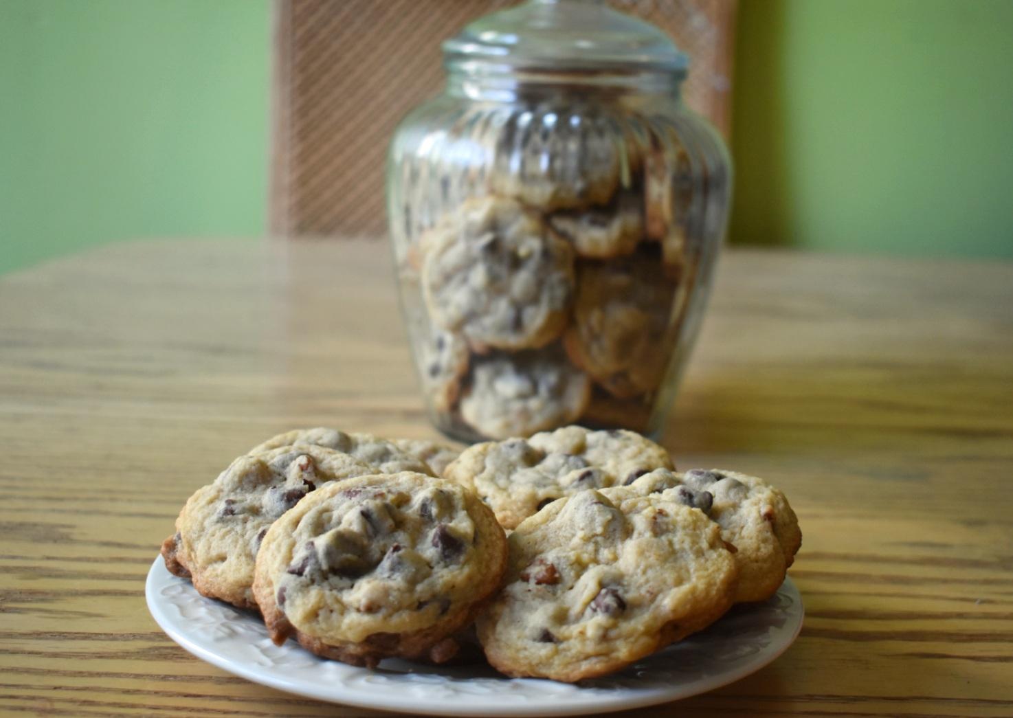 Biscuits aux brisures de chocolat et pacanes - Auboutdelalangue.com (8)