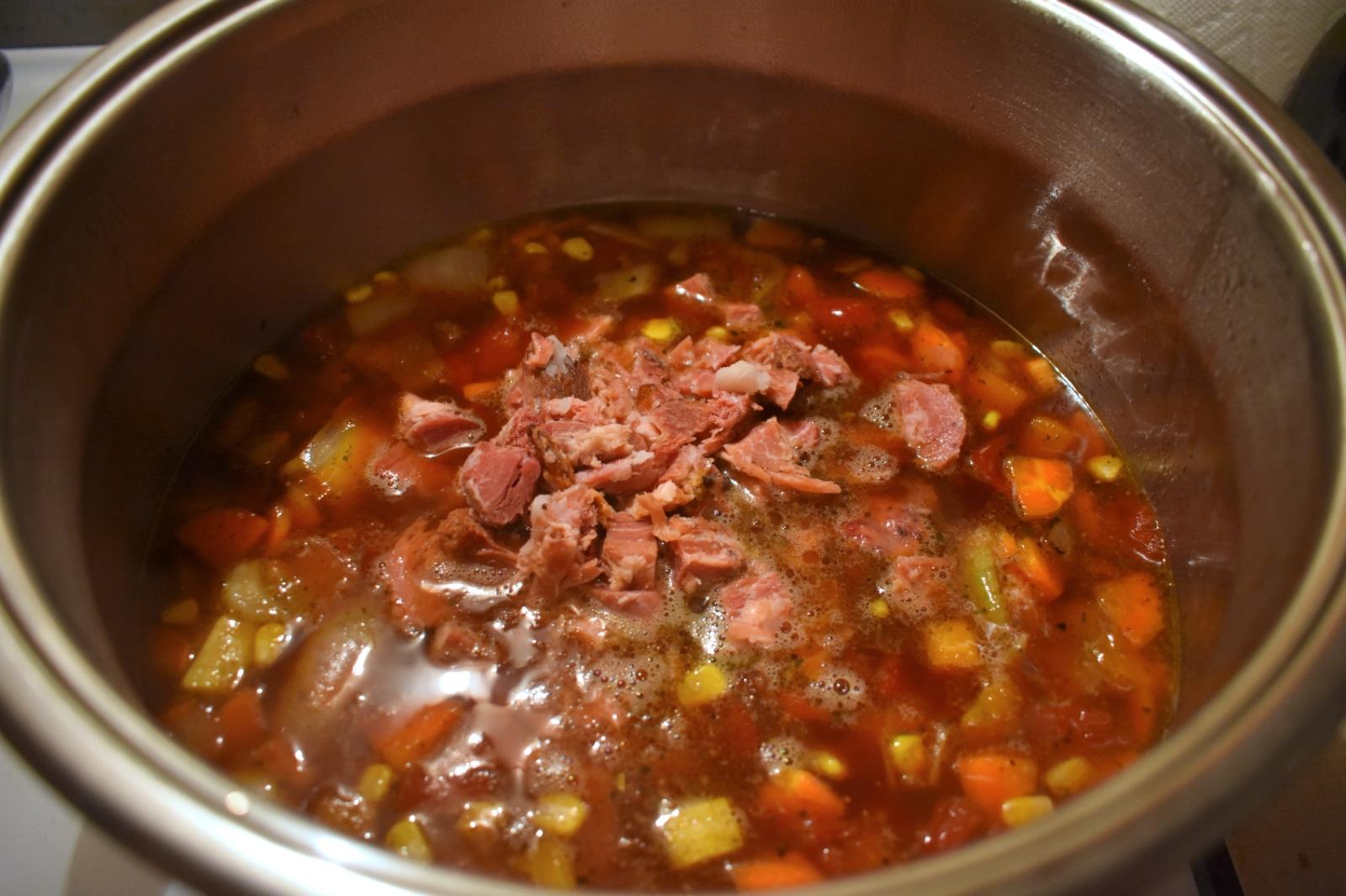 Soupe aux légumes au jambon - Auboutdelalangue.com (6)