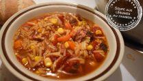 Soupe aux légumes au jambon - Auboutdelalangue.com