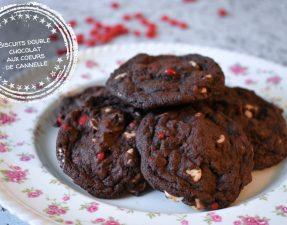 Biscuits double chocolat aux coeurs de cannelle - Auboutdelalangue.com (12)