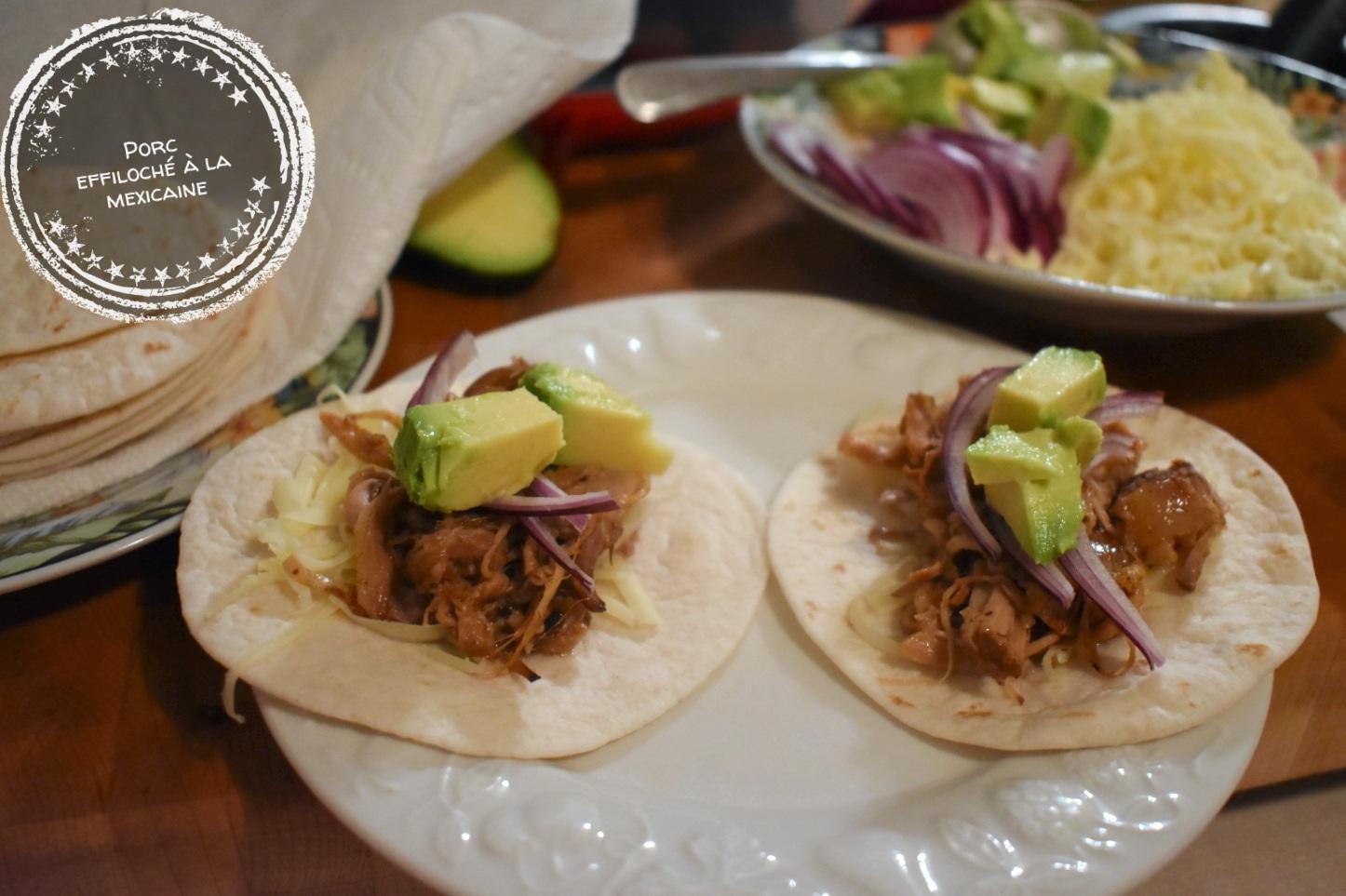 Porc effiloché à la mexicaine - Auboutdelalangue.com