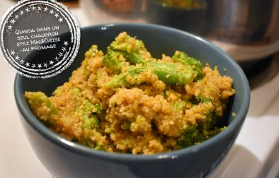 Quinoa dans un seul chaudron style Mac&Cheese au brocoli - Auboutdelalangue.com