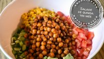 Salade de quinoa tex mex - Auboutdelalangue.com