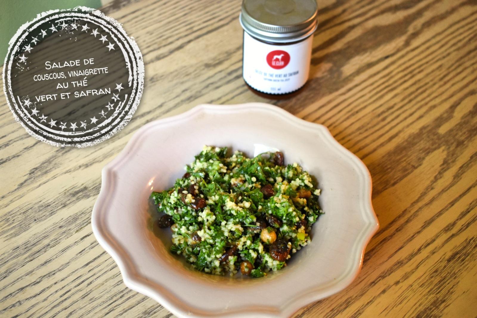 Salade de couscous, vinaigrette au thé vert et safran - Auboutdelalangue.com (6)